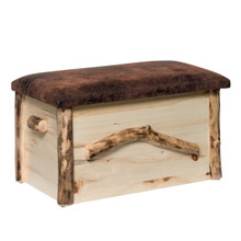 Colorado Aspen Blanket Chest w/seat