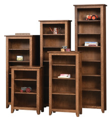 AO-24 Modern Mission Bookcases