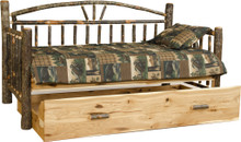 BRG Rustic Day Bed w/Trundle