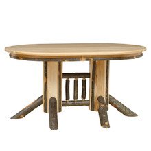 BRG Rustic Double Pedestal Table