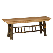 "BRG Rustic 48"" Farm Bench"