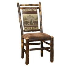 BRG Rustic Medium Back Chair