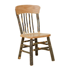 BRG Rustic Panel Back Chair