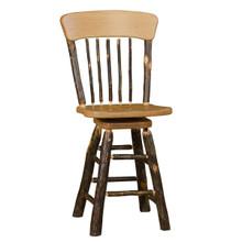 BRG Rustic Panel Back Barstool