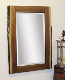 CC 2401 Live Edge Walnut Mirror