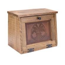Rustic Pine Bread Box