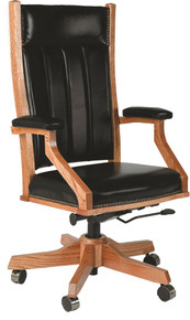 BR-MDC255 Desk Chair, Mission Style