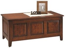 CR4219-33 3-Panel Shaker Cherry Chest