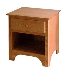 CWF424 Shaker 1-Drawer Nightstand