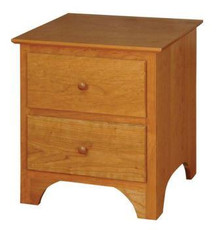 CWF425 Shaker 2-Drawer Nightstand