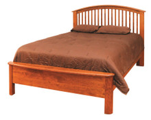 CWF502 Meridian Slat Queen Bed