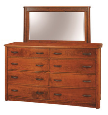 CWF511-550 Meridian Tall Dresser with Mirror