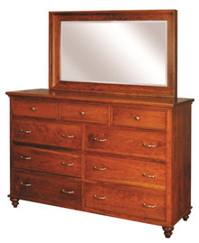 CWF911-950 Duchess Tall Dresser with Mirror