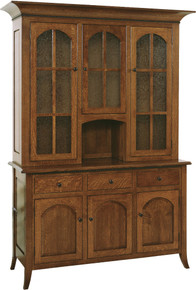 G06-33C Bunker Hill 3-Door Hutch