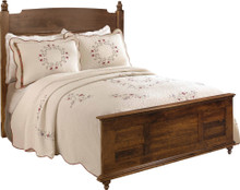 JL 107 Plymouth Queen Size Bed