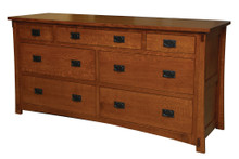 "JL 507 Dutch County Mission 70"" Dresser"