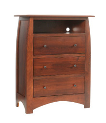 "MHF Bordeaux 38"" Chest with Opening"
