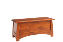 "MHF Bordeaux 49"" Blanket Chest"