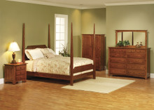 MHF Elizabeth Lockwood Pencil Post Bedroom Suite