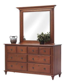 MHF Fur Elise Dresser with Mirror