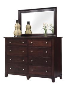 "MHF Greenwich 66"" High Dresser with High Dresser Mirror"