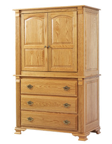 MHF Journeys End Entertainment Armoire