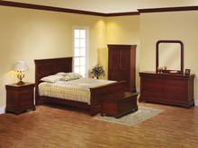 MHF Louis Phillipe Panel Bedroom Suite