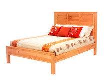 MHF Lynnwood Queen Size Panel Bed