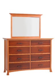 "MHF Oasis 66"" High Dresser with High Dresser Mirror"