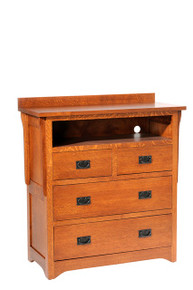"MHF San Juan Mission 40"" Chest with Opening"