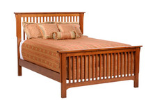 MHF San Juan Mission Queen Size Slat Bed