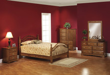 MHF Sierra Classic Double Bow Bedroom Suite