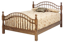 MHF Sierra Classic Queen Size Double Bow Bed