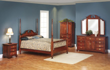 MHF Victoria's Tradition Pilaster Bedroom Suite