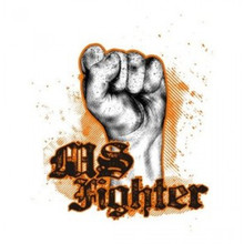 Multiple Sclerosis Fighter T-Shirt by MStees