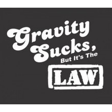 Gravity Sucks MS T-Shirt