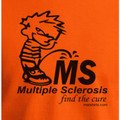 Piss on MS Orange T-shirt by MStees