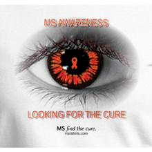 MS Awareness-Looking for a Cure T-Shirt