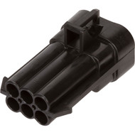 12124107 | Metri-Pack 150 Series 6 Way Male Connector