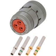 HD 3 Position Plug (HD16-3-96S) Kit