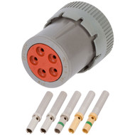 HD 5 Position Plug (HD16-5-16S) Kit