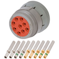HD 9 Position Plug (HD16-9-96S) Kit