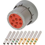 HD 9 Position Plug (HD16-9-16S) Kit