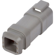 DT04-6P-E008 | Deutsch DT Series 6 Way Male Plug with Shrink Tube Modification