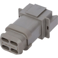 DT04-08PA-E008 | Deutsch DT Series 8 Way Male Plug with Shrink Tube Modification