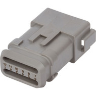 DT04-12PA-E008 | Deutsch DT Series 12 Way Male Plug with Shrink Tube Modification