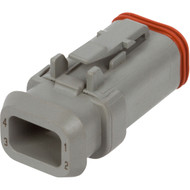 DT06-4S-E008 | Deutsch DT Series 4 Way Female Receptacle with Shrink Tube Modification
