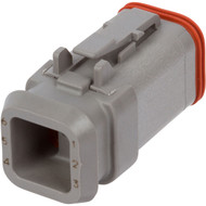 DT06-6S-E008 | Deutsch DT Series 6 Way Female Receptacle with Shrink Tube Modification
