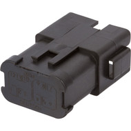 DT04-12PB-P030 | Deutsch DT Series 12 Way Male Quadruple Bussed Connector (3/3/3/3)
