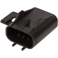 12033731 | Black Fuse Cover with Mounting Flange